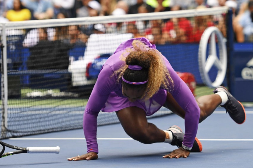 US Open 2019: Serena Williams Suffers Injury Scare En Route To Last Eight