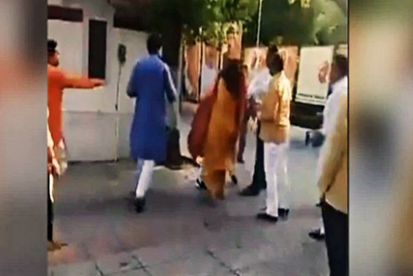 Mehrauli BJP Chief Removed From Post After Allegedly Slapping Wife At Party's Delhi Office