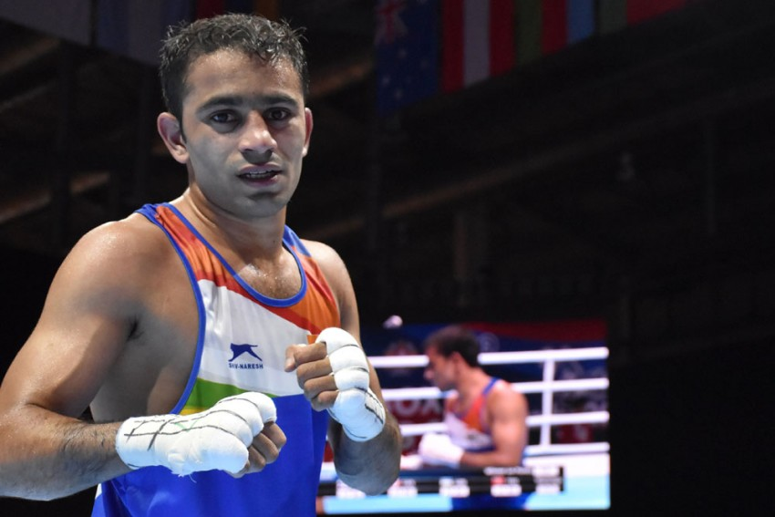 Amit Panghal First Indian To Enter World Boxing Championships Final, Manish Kaushik Ends With Bronze