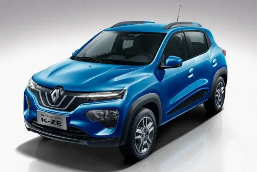 Renault Kwid Facelift Interior Spied; Gets Larger Touchscreen, New Instrument Cluster