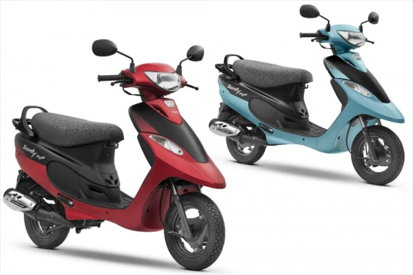 TVS Scooty Pep Plus Gets Two New Matte Colours