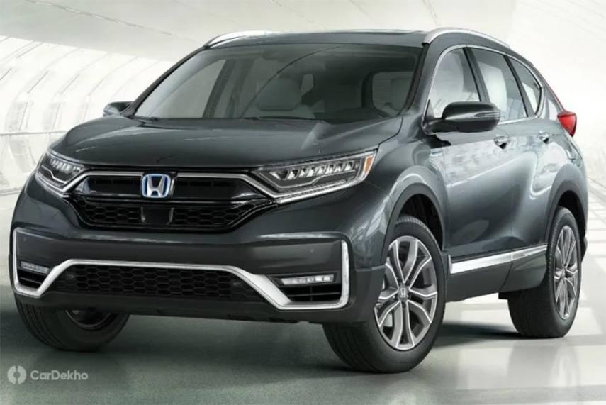 2020 Honda Cr V Facelift Revealed India Launch Expected Next Year