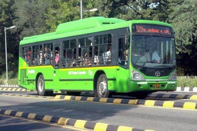 Noida Bus Driver Fined For Not Wearing Helmet