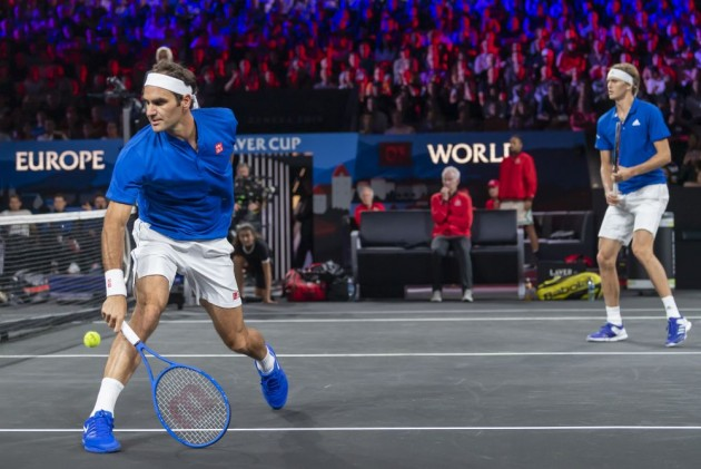 Laver Cup: Roger Federer Shines In Doubles As Europe Lead Team World 3-1
