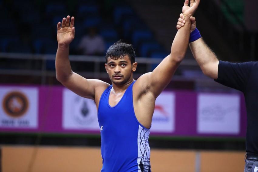 Deepak Punia Registers Olympic Quota, Enters Semifinals Of World Wrestling Championships