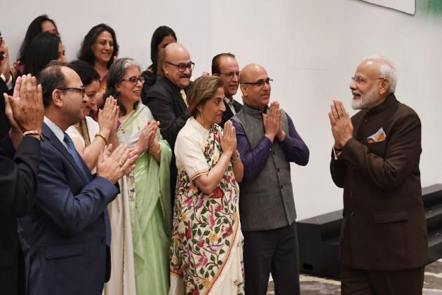 Ahead Of 'Howdy, Modi!' Event In Houston, PM Modi Meets Kashmiri Pandits, Sikhs, Dawoodi Bohras