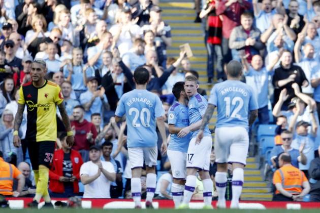 check out 3d978 9bb0c Premier League: Manchester City Coast Past Watford ...
