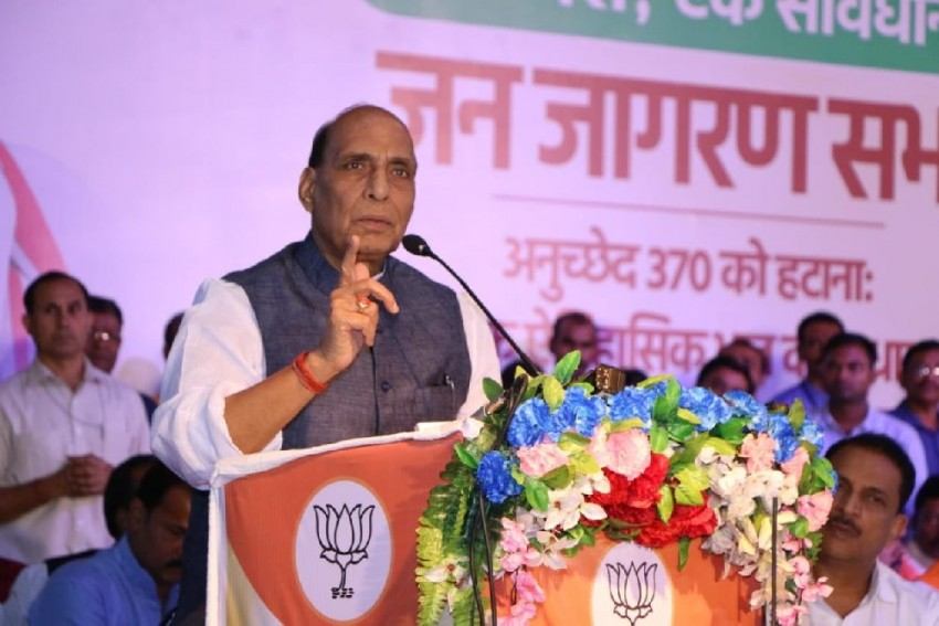 Pak At Risk Of Getting Dismantled For Human Rights Breach: Defence Minister Rajnath Singh