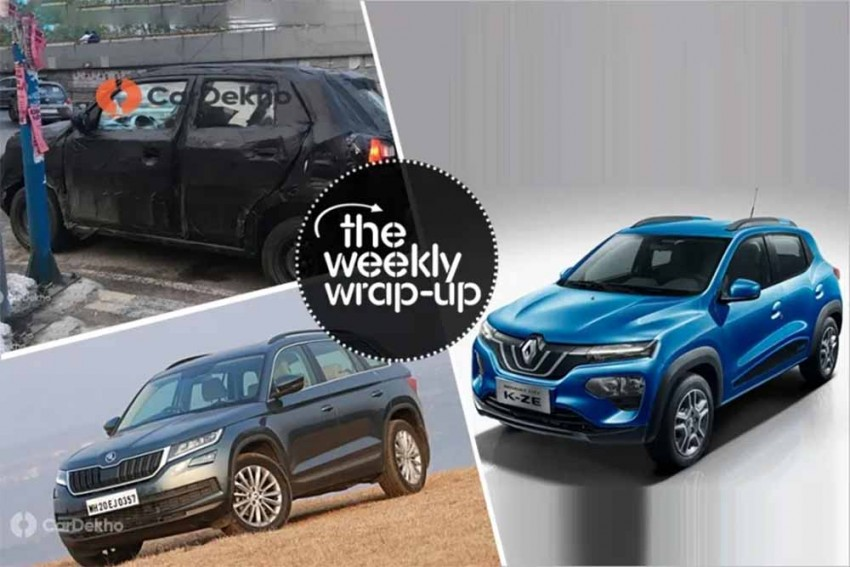 Top 5 Car News Of The Week: Maruti S-Presso Launch Date, Kwid Facelift Interior, Next-gen Mahindra XUV500, And More!
