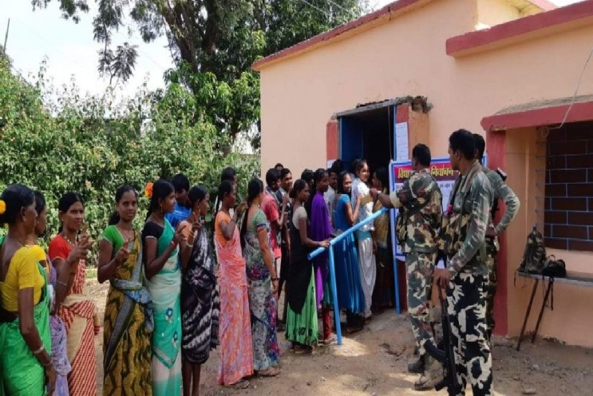 Voting Underway For Dantewada Assembly Bypoll In Chhattisgarh Amid Tight Security