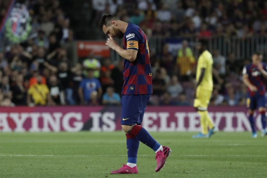 La Liga: Lionel Messi Injured But Barcelona Seal Win Over Villarreal