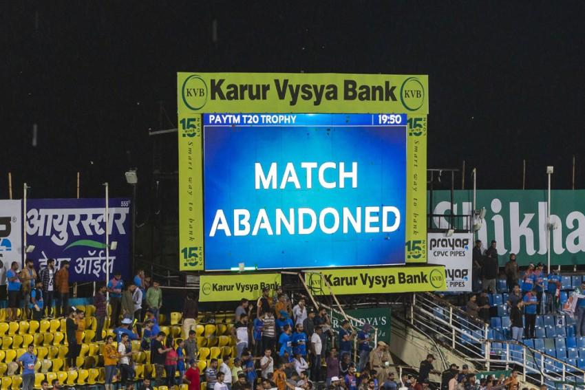 Vijay Hazare Trophy: Mumbai's Second Successive Game Abandoned