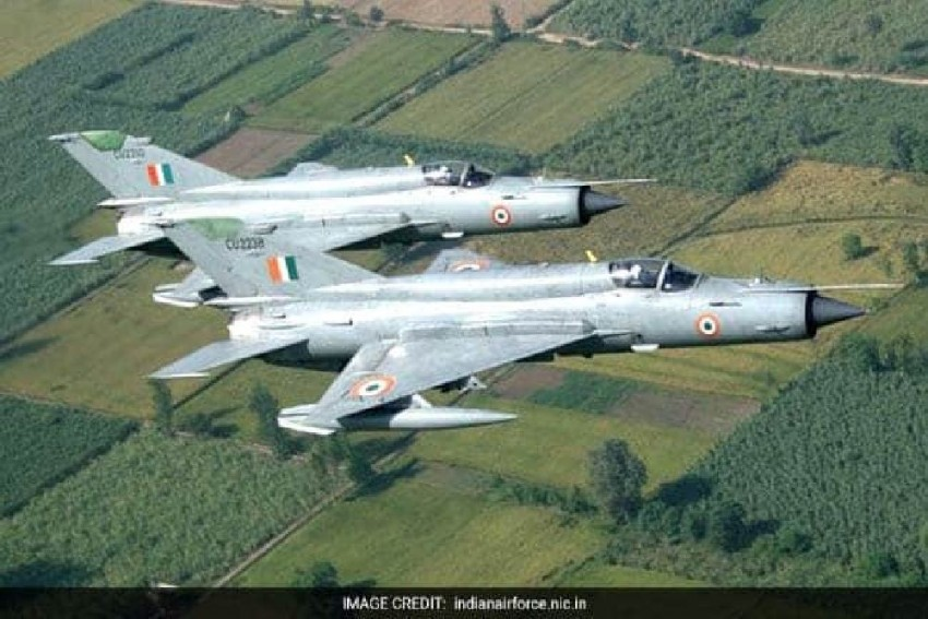 MiG Trainer Aircraft Crashes In Madhya Pradesh, Pilots Eject Safely
