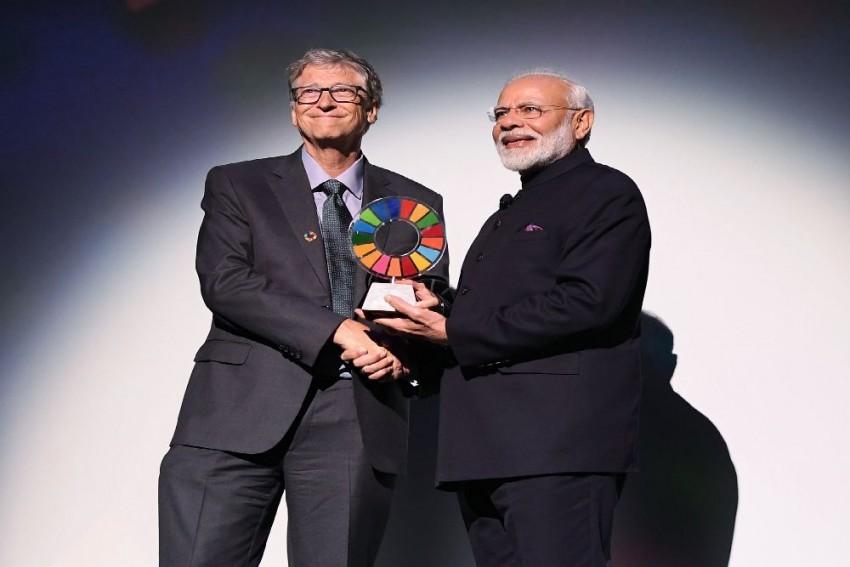 PM Modi Gets 'Global Goalkeeper' Award For Swachh Bharat Abhiyan