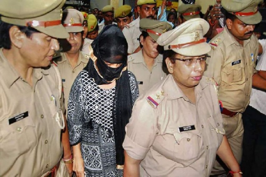 UP Student, Who Accused Chinmayanand Of Rape, Sent To Jail In Extortion Case