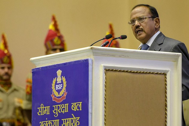 Intensify Anti-Militancy Operations, Improve People's Lives: NSA Doval Tells J&K Administration
