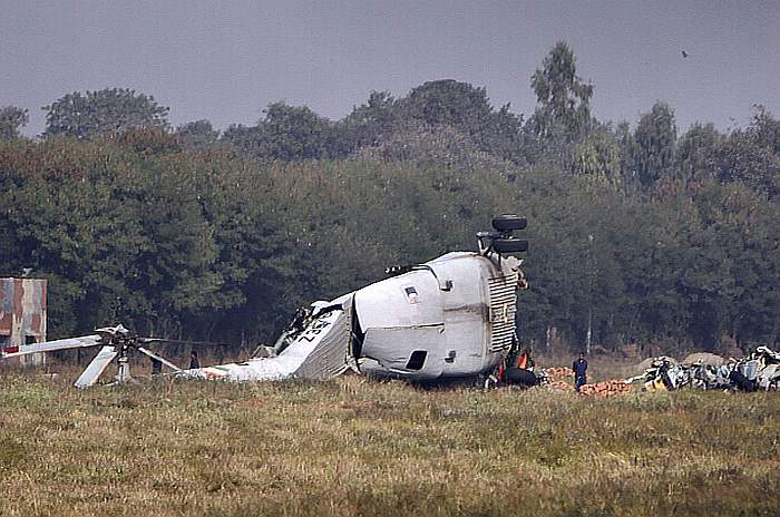 Indian Army Helicopter Crashes In Bhutan, 2 Pilots Dead