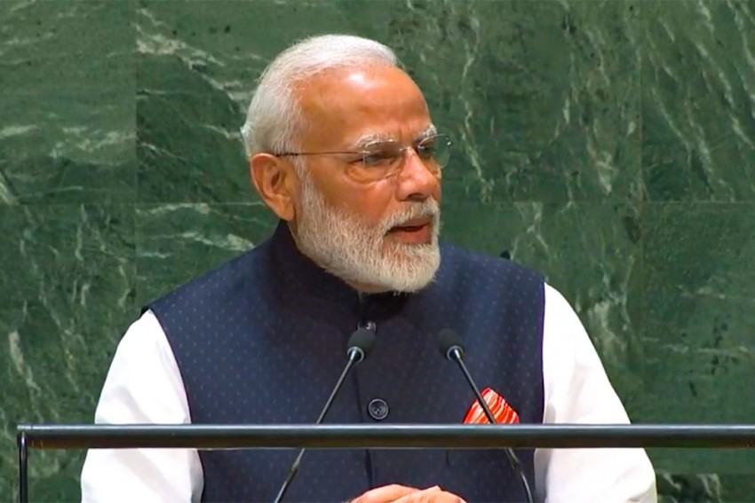 'World Should Stand As One Against Terrorism': PM Modi Tells World Leaders At UNGA