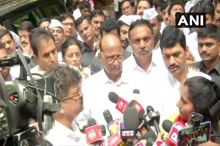 'Won't Get Scared Off, Will Visit ED When Required,' Says Sharad Pawar