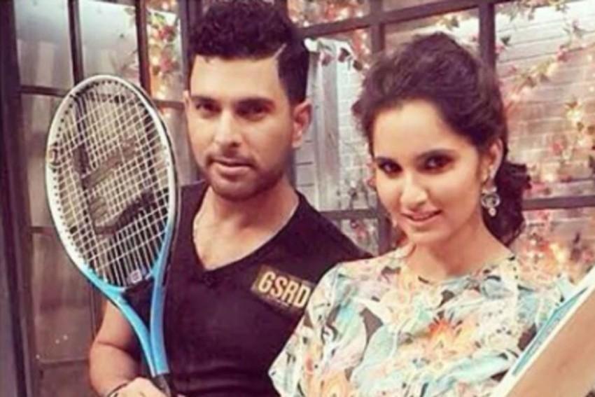 Chikna Chamela! Sania Mirza Shares Quirky Post To Troll 'Pouting' Yuvraj Singh