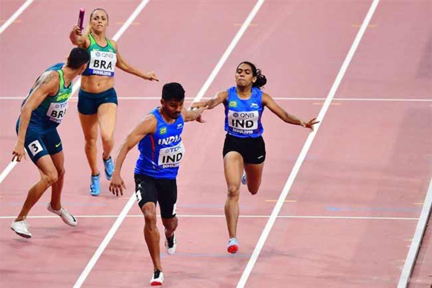 World Athletics Championships: Indian Mixed 4x400m Relay Team Reaches Final, Books Olympic Berth