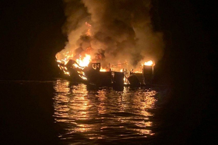 US: 25 Dead, 9 Missing After California Boat Fire