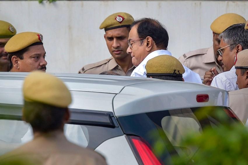 INX Media Case: SC Extends Chidambaram's CBI Custody Till September 5