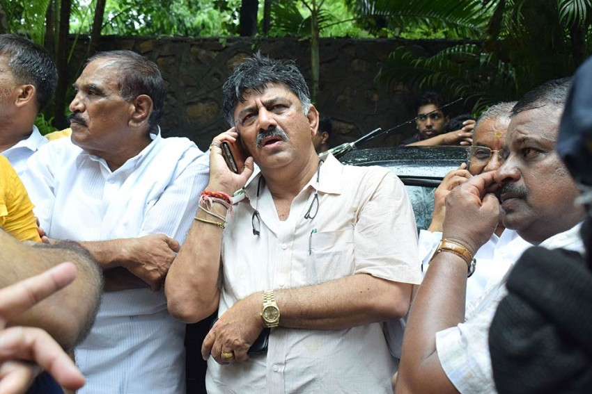 Shivakumar's Arrest Is A Bid To Hide Centre's 'Massive Structural Failures': Congress