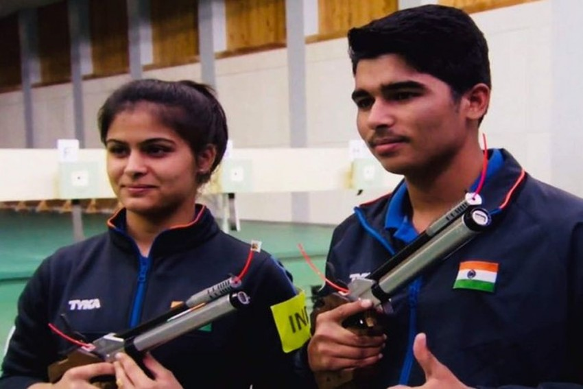 Shooting World Cup: Manu Bhaker-Saurabh Chaudhary Win Gold, India Record Best-Ever Medal Haul