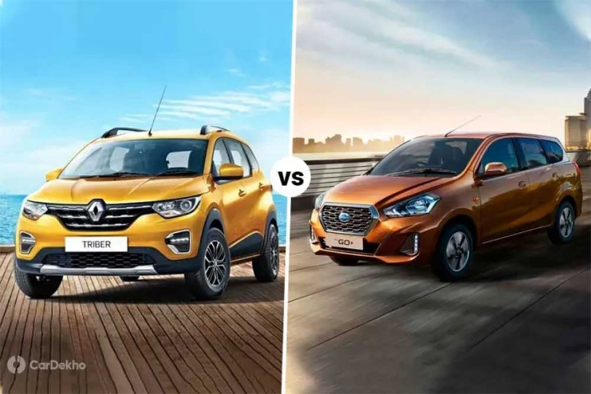 Renault Triber vs Datsun GO+: Which 7-Seater To Pick?