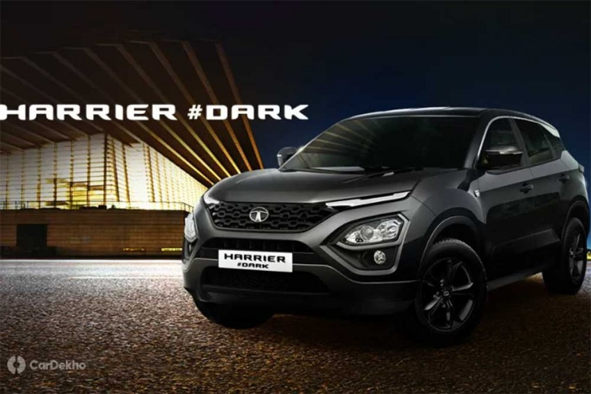 All-Black Tata Harrier Dark Edition Launched At Rs 16.76 Lakh