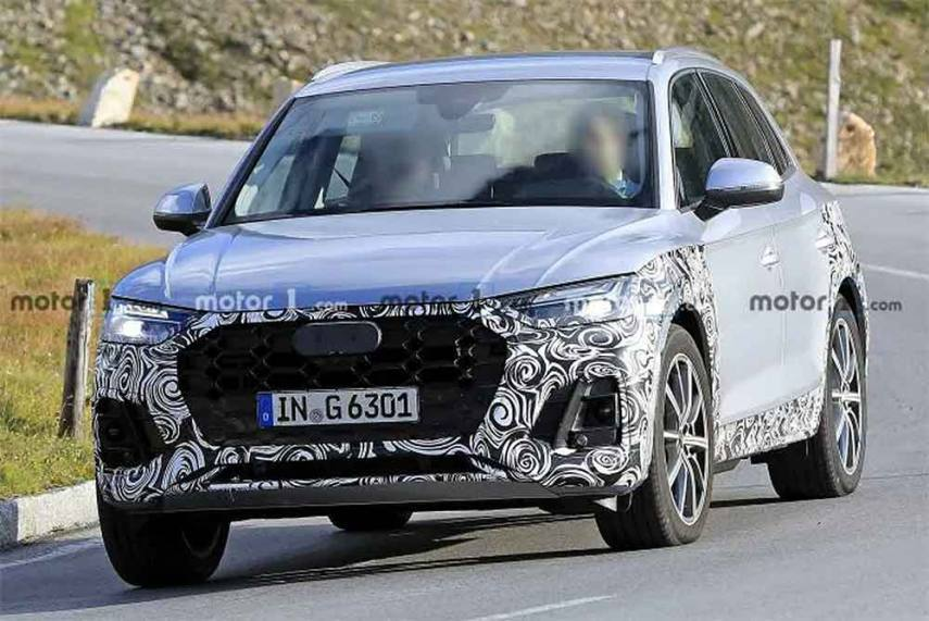 2021 Audi Q5 Facelift Looks Eerily Familiar