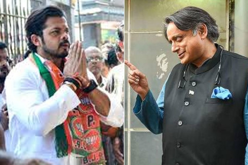 Can S Sreesanth End Shashi Tharoor's Political Career? Cricketer Sees Himself Defeating Congress Heavyweight In 2024 Lok Sabha Elections