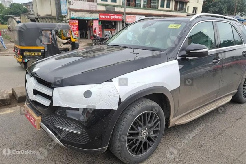 2019 Mercedes-Benz GLE Spied In India