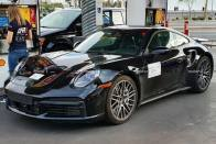 All-new Porsche 911 Turbo Spied At A Petrol Station!