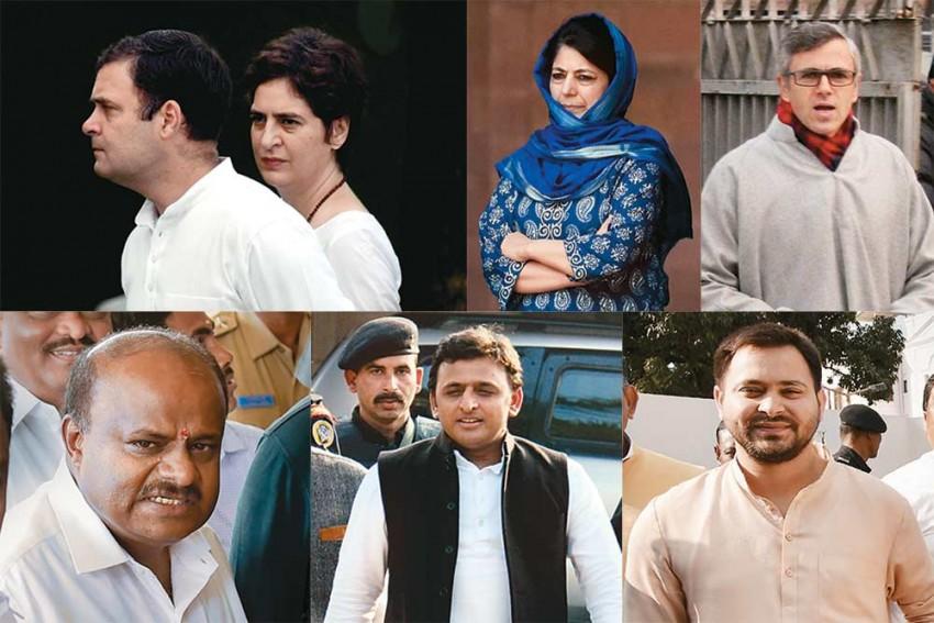 Future Tense -- Rahul, Priyanka, Akhilesh, Tejashwi In No Mood To Rebuild Their Parties