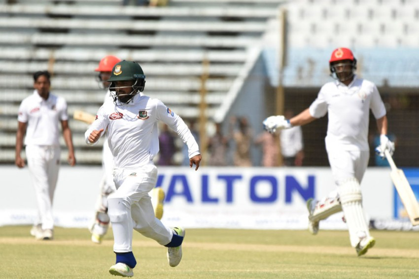 Highlights, Bangladesh vs Afghanistan, One-Off Test, Day 1: Rahmat Shah Ton Leads The Way For AFG, 271/5