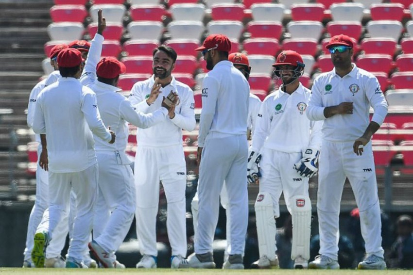 Bangladesh Vs Afghanistan, One-Off Test, Day 2: Rashid Khan's All-Round Show Puts Visitors On Top