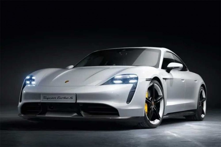 Porsche Goes Green In Style; Debuts All-Electric Taycan