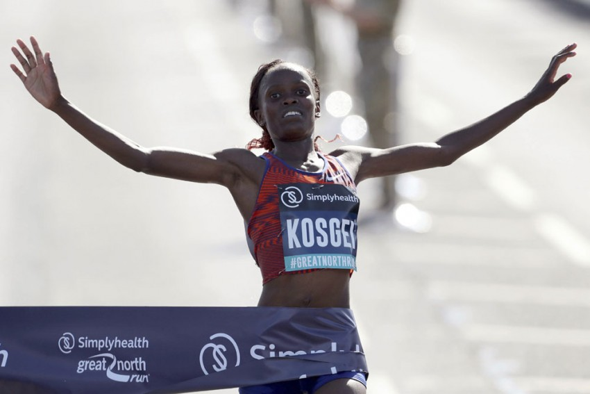 Kenya's Brigid Kosgei Runs Fastest-Ever Women's Half-Marathon