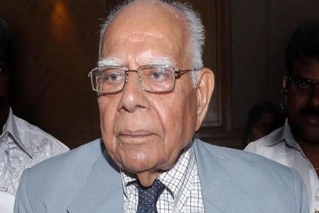 Veteran Lawyer Ram Jethmalani Dies At 95