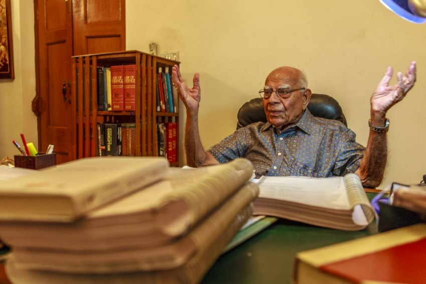 Charismatic, Bold And Erudite Ram Jethamalani Was Beacon Of Criminal Law In The Country