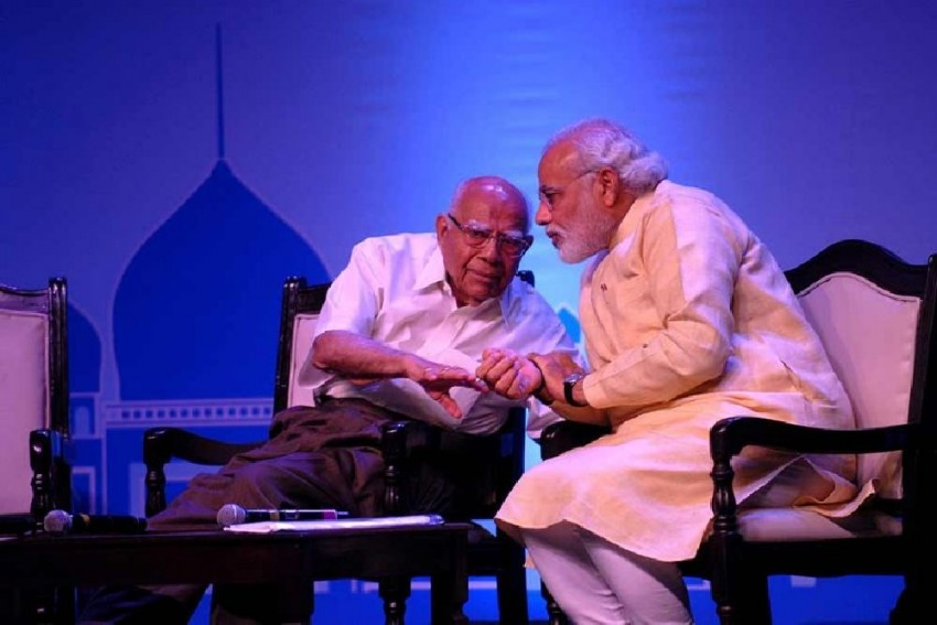 'Iconic Figure Who Boldly Spoke His Mind': PM Modi Condoles Ram Jethmalani's Death