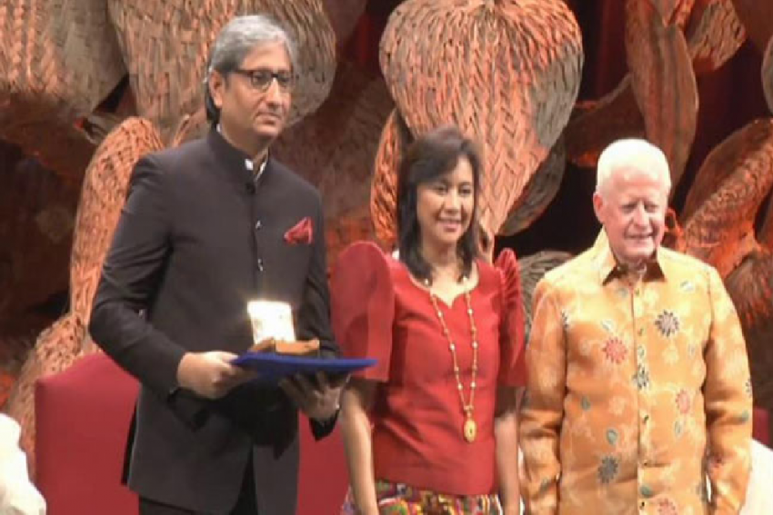 'Indian Media Is In State Of Crisis': Ravish Kumar In His Ramon Magsaysay Award Speech