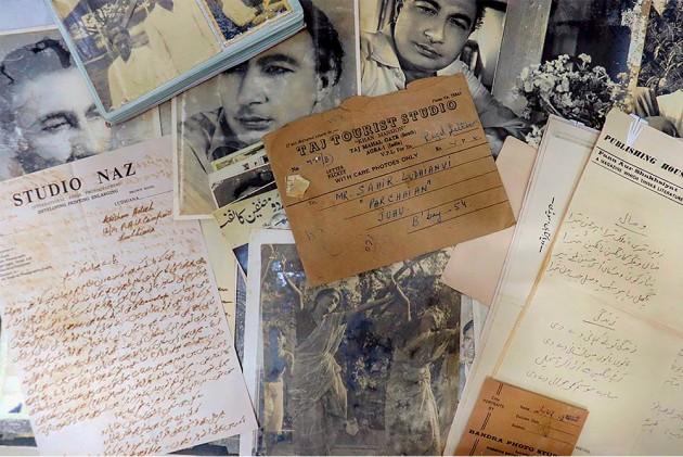 Priceless Notes, Poems, Photos Of Sahir Ludhianvi Found At Mumbai Scrap Shop