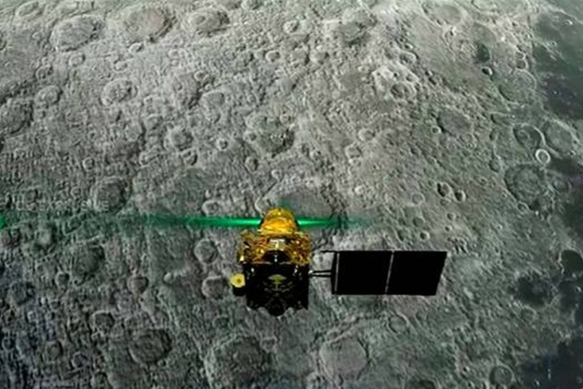 Chandrayaan-2 'Vikram' Lander Tilted On Moon, But In One Piece, Says ISRO