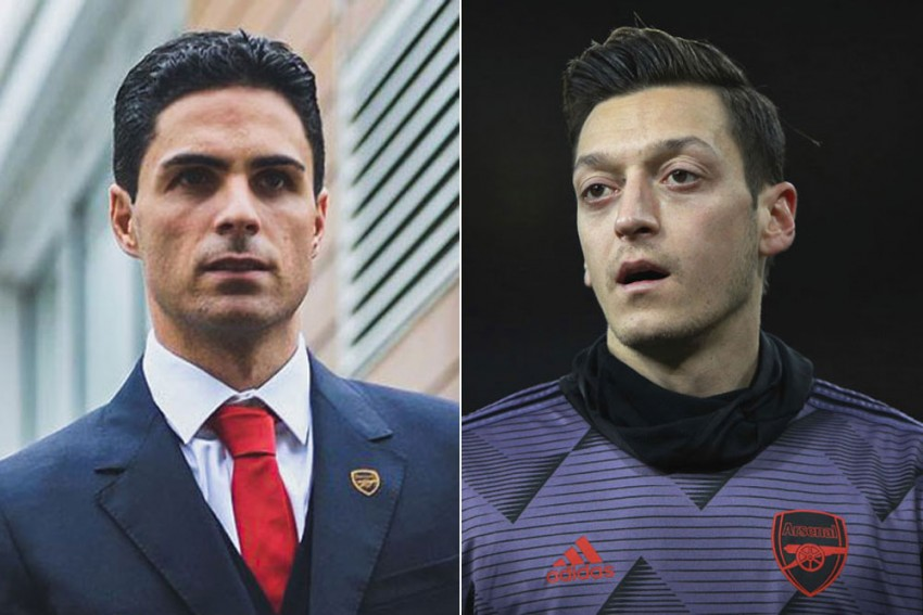 Mikel Arteta Not Surprised By 'Willing' Mesut Ozil's Energy