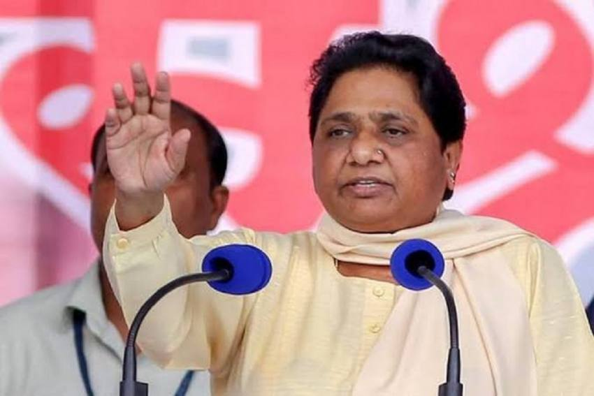 BJP Weakened The Constitution, But Protests Should Not Be Violent: Mayawati