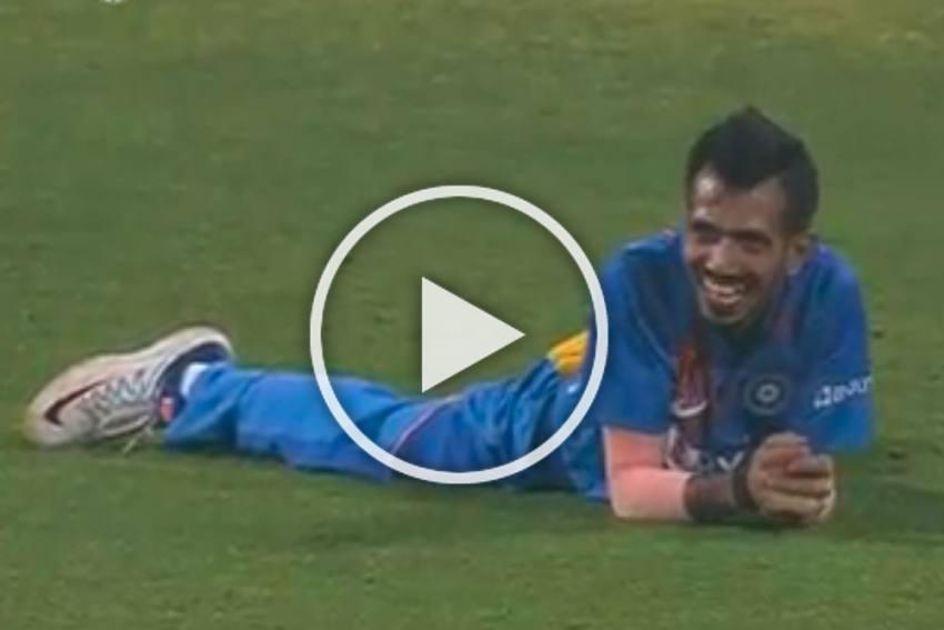 IND Vs SL, 3rd T20I: Yuzvendra Chahal Indulges In Strange Celebration After Hitting Bulls-Eye - WATCH