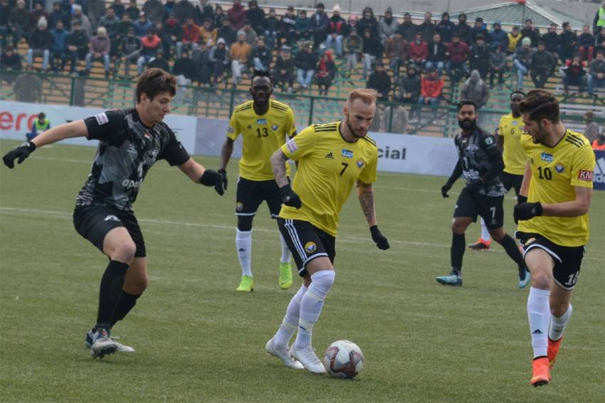 I-League: Real Kashmir Hold Former Champions Punjab FC In Srinagar